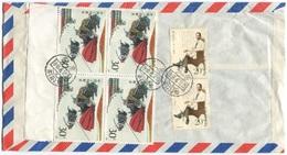 1944 - CHINA - Luftpost Beleg Nach Schweden Seltener Bedarfsbeleg - 1949 - ... Volksrepublik