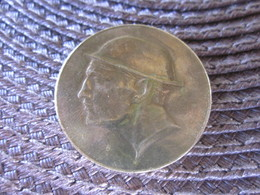 RARE MEDAILLE BELGE JETON PIECE 1830/ 1930 GLOIRE A LIEGE VAILLANTE - Royal / Of Nobility