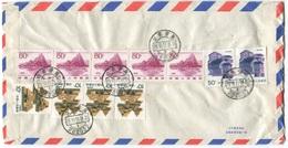 1945 - CHINA - Luftpost Beleg Nach Schweden Seltener Bedarfsbeleg - Lettres & Documents