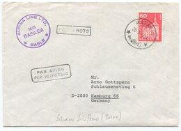1948 - ALPINA LINE LTD. M/S BASILEA, BASLE PAQUEBOTS / Schweizer Schiffspoststempel - Poststempel