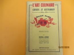 Livret/ L'Art Culinaire Chinois Et Vietnamien / Une Diététique Millénaire/ DONG-KINH/Charenton// 1958        LIV146 - Gastronomie