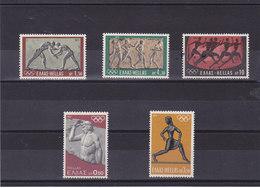 GRECE 1972 JEUX OLYMPIQUES DE MUNICH Yvert 1092-1096 NEUF** MNH - Grèce
