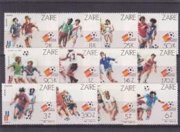 Football - Coupe Du Monde - Espagne 1982 - Zaïre - COB 1137 / 48 ** - MNH - Valeur 12,5 Euros - Zaïre