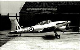 BOULTON PAUL BALLIOL    T2    ++   15 * 11 CM - Aviación
