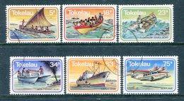 Tokelau 1983 Transport Set Used (SG 91-96) - Tokelau