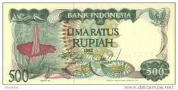 INDONESIA P. 121 500 R 1982 UNC - Indonesia