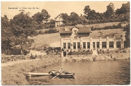 Loverval NA14: Une Vue Du Lac 1945 - Gerpinnes