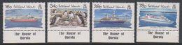 """Falkland Islands 1993 Tourism 4v  """"House Of Questa"""" In Margin ** Mnh (39515) - Falklandeilanden"""