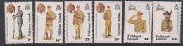 Falkland Islands 1992 Defence Force / Uniforms 6v ** Mnh (39516B) - Falklandeilanden