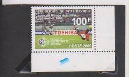 Côte D'Ivoire  Fifa Coupe Du Monde 2006 YT 1254 Michel 1484 - 2006 – Allemagne