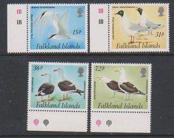 Falkland Islands 1993 Gulls And Terns 4v ** Mnh (39516H) - Falklandeilanden
