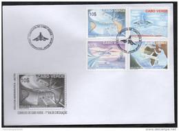 Cabo Verde 2007 - Ciclo Da Aeronautica II Concorde Concord Avion Airplane Flugzeug Airbus Boeing 4 Val. FDC - Isola Di Capo Verde