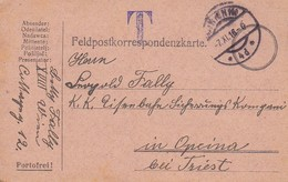 Feldpostkarte - Wien Nach Opcina  - 1916 (35645) - 1850-1918 Imperium