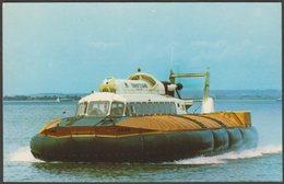 Hovertravel Ltd Saunders Roe SR-N6 Hovercraft, C.1967 - Nigh Postcard - Hovercrafts