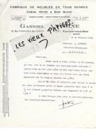 94 - Val-de-marne - FONTENAY-SOUS-BOIS - Facture ANTOINE - Fabrique De Meubles - 1928 - REF 97D - Francia