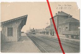 PostCard - Gits - Hooglede - Bahnhof Statie Station Gare - 1915 - Hooglede