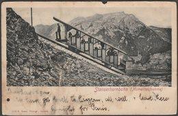 Momentaufnahme, Stanserhornbahn, Nidwalden, 1903 - Goetz U/B AK - NW Nidwalden
