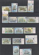 Falkland Islands 1989 Definitives / Cape Horners 16v ** Mnh (39517B) - Falklandeilanden