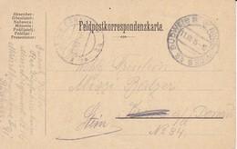 Feldpostkarte Budweis Nach Stein A. D. Donau - 1914 (35651) - Briefe U. Dokumente