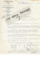 Suisse - YVERDON - Facture ETTER - Scierie - Commerce De Bois - 1928 - REF 97E - Svizzera