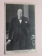 WINSTON S. CHURCHILL ( Tuck - Star ) Anno 19?? ( Zie Foto Voor Details ) ! - Hommes Politiques & Militaires