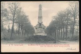 CAMP VAN BEVERLOO = A LA MEMOIRE DES VOLONTAIRES BELGES MORT EN COMBATANT AU MEXIQUE - Leopoldsburg (Kamp Van Beverloo)