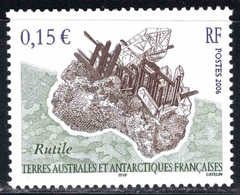 TAAF - FSAT - 2006  - Minéral - Rutile  - N° 435  - Neuf ** - MNH - Neufs