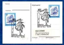 Autriche  -  Postkarte  -  Cachet Grafin Mariza  - 20/6/1992 - 1991-00 Cartas