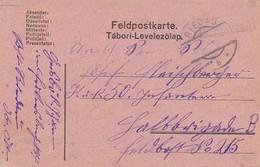 Feldpostkarte Riedau Nach Feldpost No. 215 - 1916 (35653) - Briefe U. Dokumente