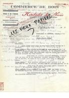 Algérie - ORAN - Facture HADIDA - Commerce De Bois - 1939 - REF 97E - Altri
