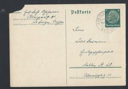 17de.Postkarte. übergeben Die Post Von 1940. Koenigsvartha (Rakecy) Luzhitskaya Siedlungsgebiet. - Germany