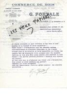 Algérie - ALGER - Facture PORTALE - Commerce De Bois - 1938 - REF 97E - Altri