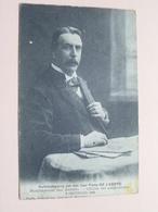Huldebetooging Aan Den Heer FRANS De L'ARBRE Burgemeester Van MERXEM ( François ) Anno 1906 ( Zie Foto Voor Details ) ! - Hommes Politiques & Militaires