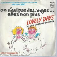 """45 Tours SP - MORT SHUMAN  - PHILIPS 6010332 - B.O Du Film """" ON N'EST PAS DES ANGES... ELLES NON PLUS """" + 1 - Other - French Music"""