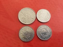 LOT DE 4 Pièces Voir Le Scan - Münzen & Banknoten