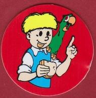 Flippo Jommeke 1994 Strip Cartoon Stripfiguur Jommeke Jommekesbrood Het Volk Flip Papegaai - Advertising