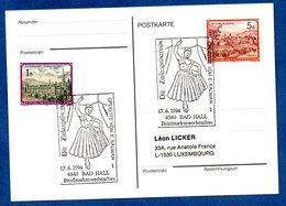 Autriche  -  Postkarte --  Cachet Die Zirkusprinzessin  -  17/6/1994 - 1991-00 Cartas