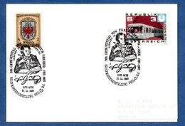 Autriche  -  Postkarte --  Cachet 200 Geburtstag Von Franz Xaver Gruber -  27/11/1987 - 1991-00 Cartas