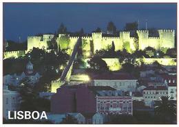 Entier Postaux De Tourisme- Castle Of Saint George (Lisboa) - Portugal - Entiers Postaux