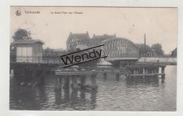 Dendermonde (le Grand Pont Sur L'Escaut 1913) - Dendermonde