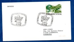 Espagne  -  Enveloppe  -  Cachet Alcanar Felip Pedrell  -- 13 Octobre 1991 - 1991-00 Cartas