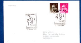 Espagne  -  Enveloppe  -  Cachet Exfilna  -  6 Juin 1992 - 1991-00 Lettres