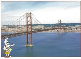 Entier Postaux De Tourisme - 25 De Abril Bridge (Lisboa) - Portugal - Postal Stationery