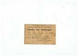 R F DEPARTEMENT DE LA MAYENNE CARTE DE REFUGIE ORIGINAIRE DE FOURMIES (NORD) - 1939-45
