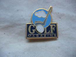 """Pin's De La Revue """"GOLF Magazine"""" - Medias"""