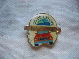 Pin's Reporter à CHAUDFONTAINE - Rallye