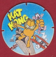 GARFIELD 1995 King Kong Kat Flippo Nr. 28 Croky Chips  Strip Stripfiguur Comics Bande Dessinée - Publicidad