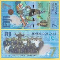 Fiji 7 Dollars P-120 2017 Commemorative UNC - Fiji