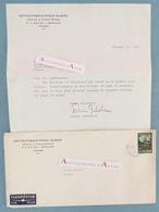 ICELAND REYKJAVIK - Museum Of Natural History - 1974 - Sveinn JAKOBSSON - Islande Island Islands Letter Autograph - Autographes