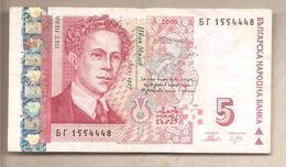Bulgaria - Banconota Circolata Da 5 Leva P-116b - 2009 - Bulgaria